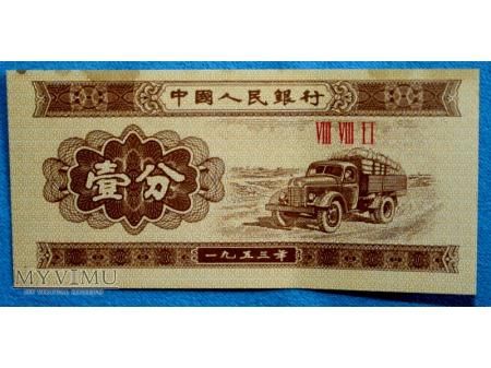 1 Fen Chińska Republika Ludowa