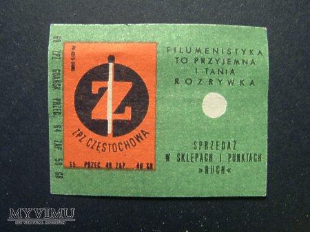 Etykieta - ZPZ Częstochowa