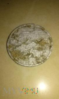 medal rzeź na Placu Teatralnym