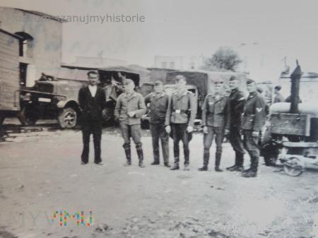 niemieccy żołnierze w Grecji 1941