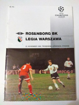 Duże zdjęcie Rosenborg BK Trondheim - Legia Warszawa