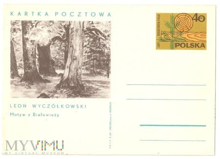Ochrona lasów w Polsc1969.11.22