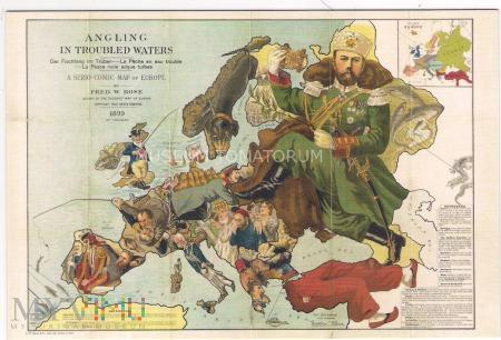 Dachshund - Mapa Europy
