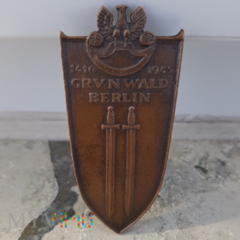 Odznaka Grunwald z literą V!!!