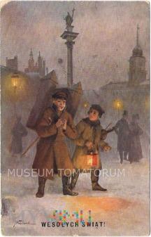 Wesołych Świąt - 1923 - Wasilewski