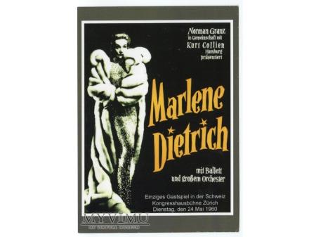 Marlene Dietrich występ Zurich MARLENA 1960