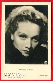 Marlene Dietrich Verlag ROSS 6267/1