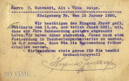 Konigsberg 1920 r.