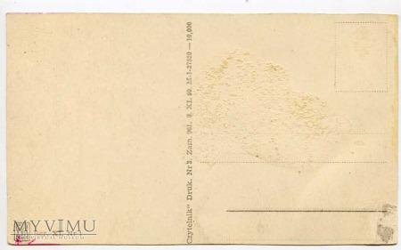 Grudziądz - Widok od Wisły pół wieku później 1950