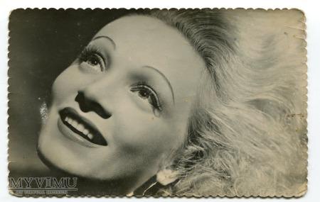Marlene Dietrich Hiszpania 1940 Postcard