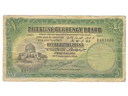 1 Funt Palestyński 1929