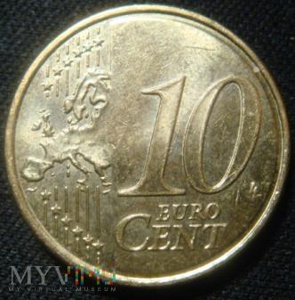 10 centów - Francja - 2010 rok