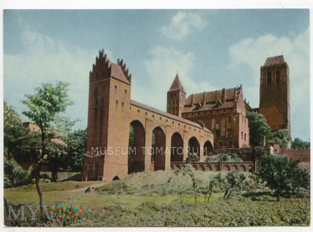 Kwidzyń - Zamek Krzyżacki - 1967