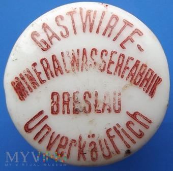 Gastwirte - Mineralwasserfabrik Breslau