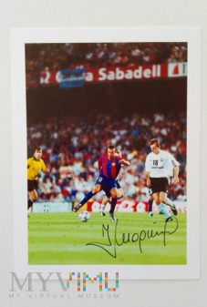 Jacek Magiera FC Barcelona-Legia Warszawa 2002