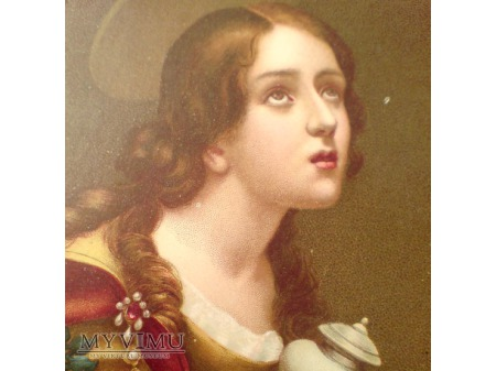 Maria Magdalena Carlo Dolci pocztówka E. SBORGI
