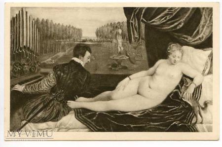 Tycjan - Venus z młodzieńcem grającym na organach