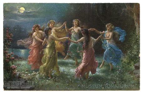 Duże zdjęcie Hans Zatzka - Taniec elfów