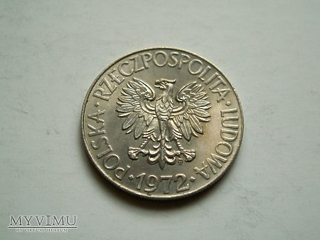 PRL- 10 zł rok 1972