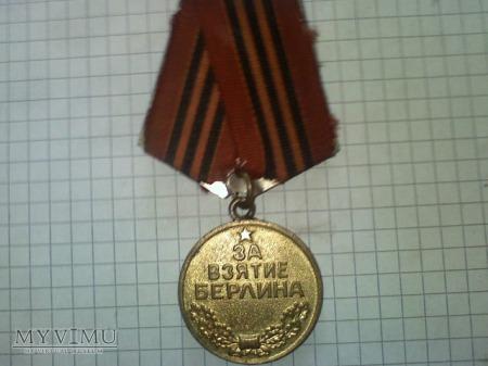 medal za zdobycie berlina