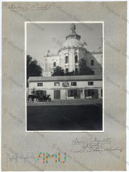 Duże zdjęcie Pińsk - kościół i klasztor jezuitów 1938