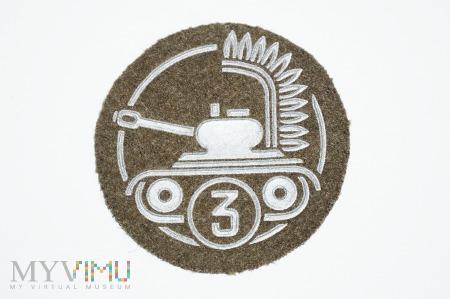 Oznaka specjalisty wojsk pancernych klasa 3