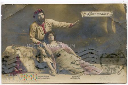 Quo Vadis - teatr - 1911