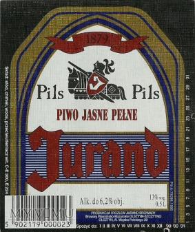 Browar Szczytno Piwo jasne pełne Pils Jurand