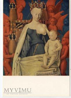 J. Fouquet - Dziewica Maria i Jezus