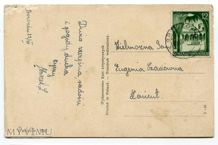 1940 Święta Generalgouvernement okupacja