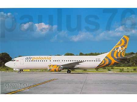 Boeing 737-4Q8, SP-KPI, Air Polonia