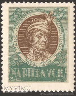 Wydanie I - 15 fenigów - Tadeusz Kościuszko