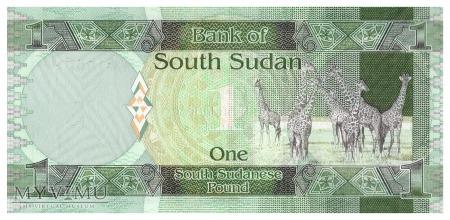 Sudan Południowy - 1 funt (2011)