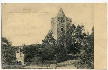 Zamek w Ojcowie - 1885