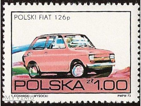 Fiat 126p znaczek