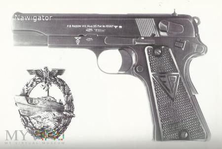 Pistolet VIS wz 35 Kriegsmarine / Zdjecie /