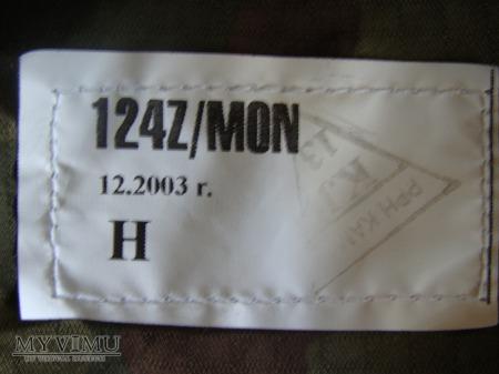 Mundur polowy letni 124Z/MON - Bluza