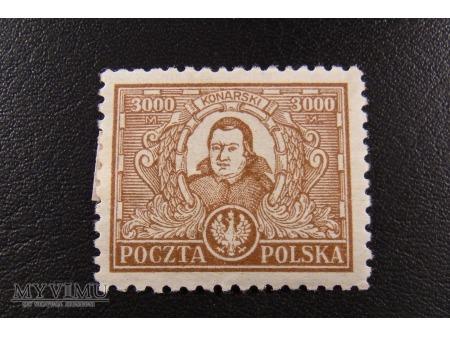 Konarski za 3000 marek polskich