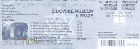 Praga - Muzeum Żydowskie