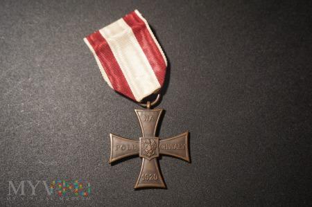 Krzyż Walecznych - Knedler nr :14584 ;Przebitka