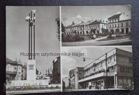 KROSNO Pomnik Tysiąclecia Państwa Polskiego .Rynek