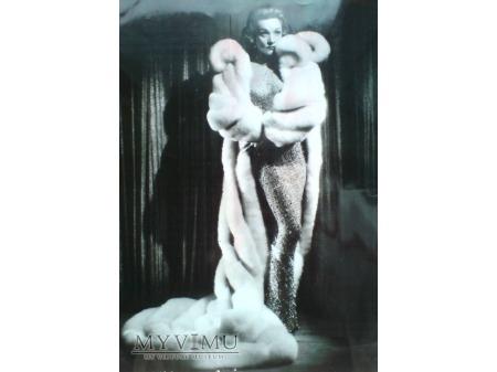 Marlene Dietrich c.1955 LAS VEAGAS i Futro