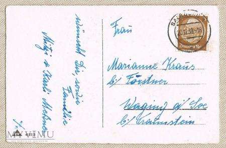 20.12.1938 kartka świąteczna