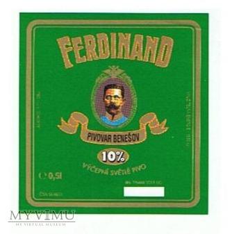 ferdinand 10% výčepní svétlé pivo