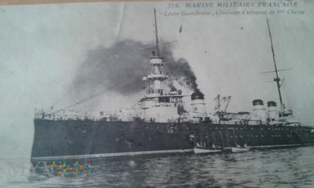 okręt Leon Gambetta