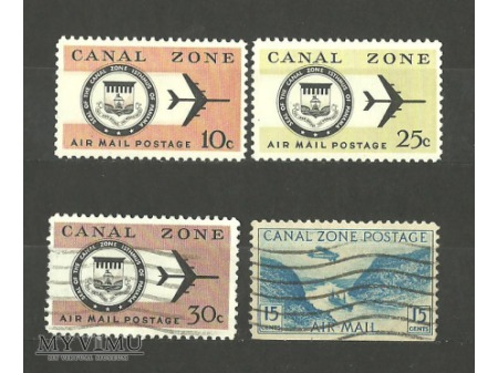 Canal Zone Postage