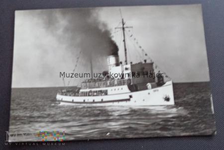 """""""Zofia"""" s/s Statek Żeglugi Gdańskiej"""