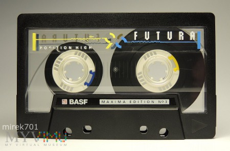 Basf Maxima Futura 90 kaseta magnetofonowa