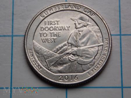25 CENTÓW 2016- USA