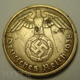 III Rzesza 10 Reichspfennig 1938 A